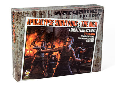Apocalypse Survivors: The Men - Dark Futures - Wargames Factory