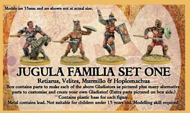 Familia Set One - JUGULA Figur (english)