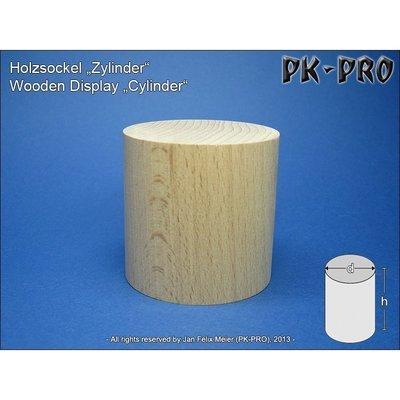 CP-Holzsockel-Zylinder-H/D 60x60mm - PK-Pro
