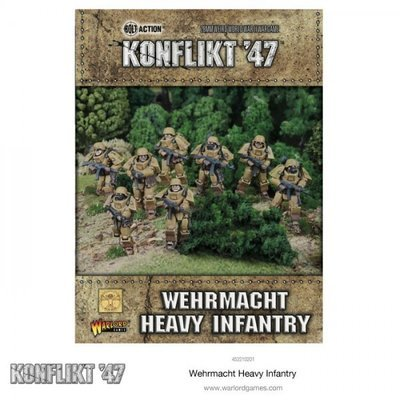 German Heavy Infantry  - Konflikt '47 - Warlord Games