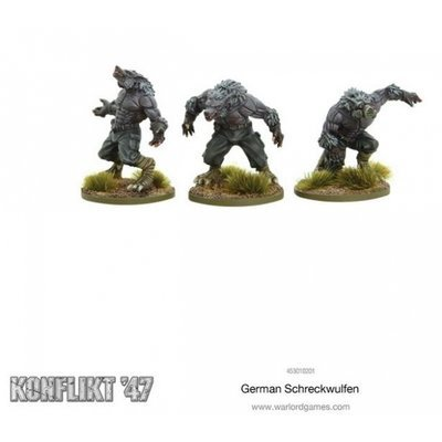 German Shreckwulfen - Konflikt '47 - Warlord Games