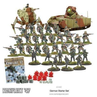 Konflikt '47 Starter Set (German Army) - Warlord Games