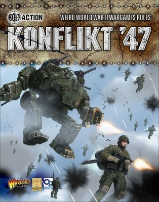 Konflikt '47 Rule Book - Regelbuch English - Warlord Games