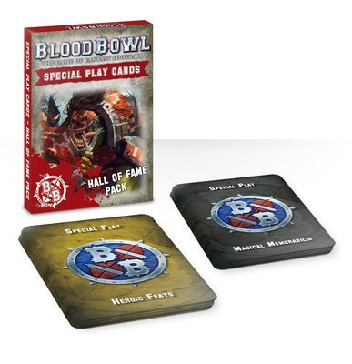 Blood Bowl Special Play Cards: Hall of Fame Pack Ruhmeshalle (Deutsch) - Blood Bowl - Games Workshop