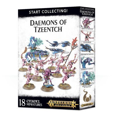 Start Collecting! Daemons of Tzeentch - Warhammer Age of Sigmar - Games Workshop