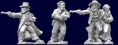 Bank Robbers. (3) - Wild West - Artizan Designs