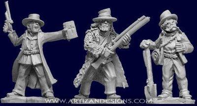 Frontier Characters - Wild West - Artizan Designs