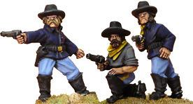 7th Cavalry w/ Pistols (foot) - Wild West - Artizan Designs