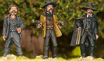 Doc Holliday & Wild Bill Hickock - Wild West - Artizan Designs