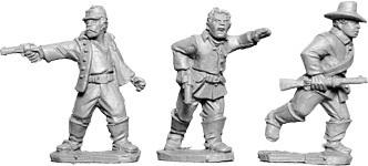 Buffalo Soldier Characters - Wild West - Artizan Designs
