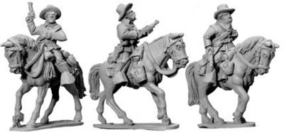 7th Cavalry w/ Carbines (Mounted) - Wild West - Artizan Designs