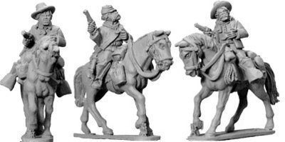 7th Cavalry troopers (Mounted) - Wild West - Artizan Designs