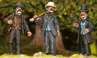 Bat Masterson and Dodge City Marshals - Wild West - Artizan Designs