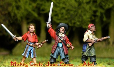 Juan Corso's Buccaneers (3) - Pirates - Artizan Designs