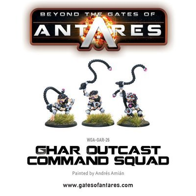 Ghar Outcast command squad - Beyond The Gates Of Antares