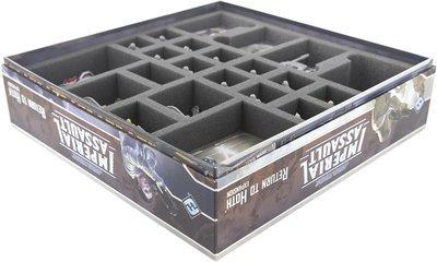 50 mm Schaumstoffeinlage für die Star Wars Imperial Assault - Return To Hoth Brettspielbox - Feldherr
