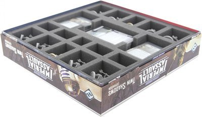 35 mm Schaumstoffeinlage für die Star Wars Imperial Assault - Twin Shadows Brettspielbox - Feldherr