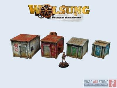XIX Century Shantytown - Wolsung