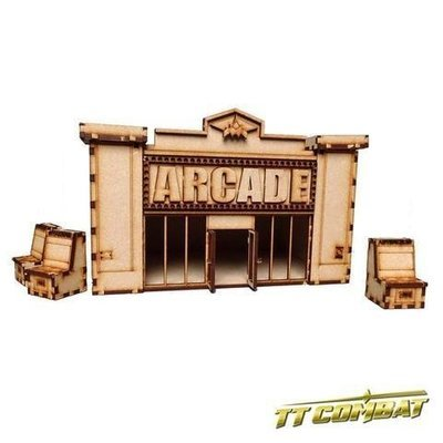Arcade - TTCombat - Kingsley