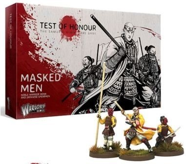 Test of Honour Masked Men - Warlord Games