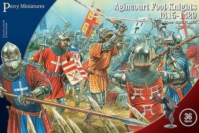 Agincourt Foot Knights - Perry Miniatures