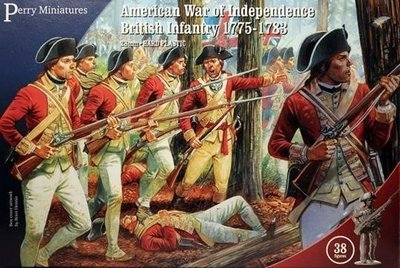 American War of Independence British Infantry 1775-1783 - Perry Miniatures