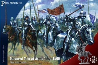 Mounted Men at Arms 1450-1500 - Perry Miniatures