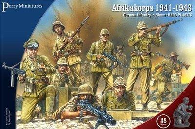 Afrikakorps, German Infantry 1941-43 - Perry Miniatures