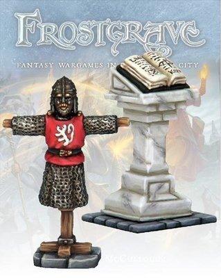 Armour Rack & Lectern - Frostgrave - Northstar Figures