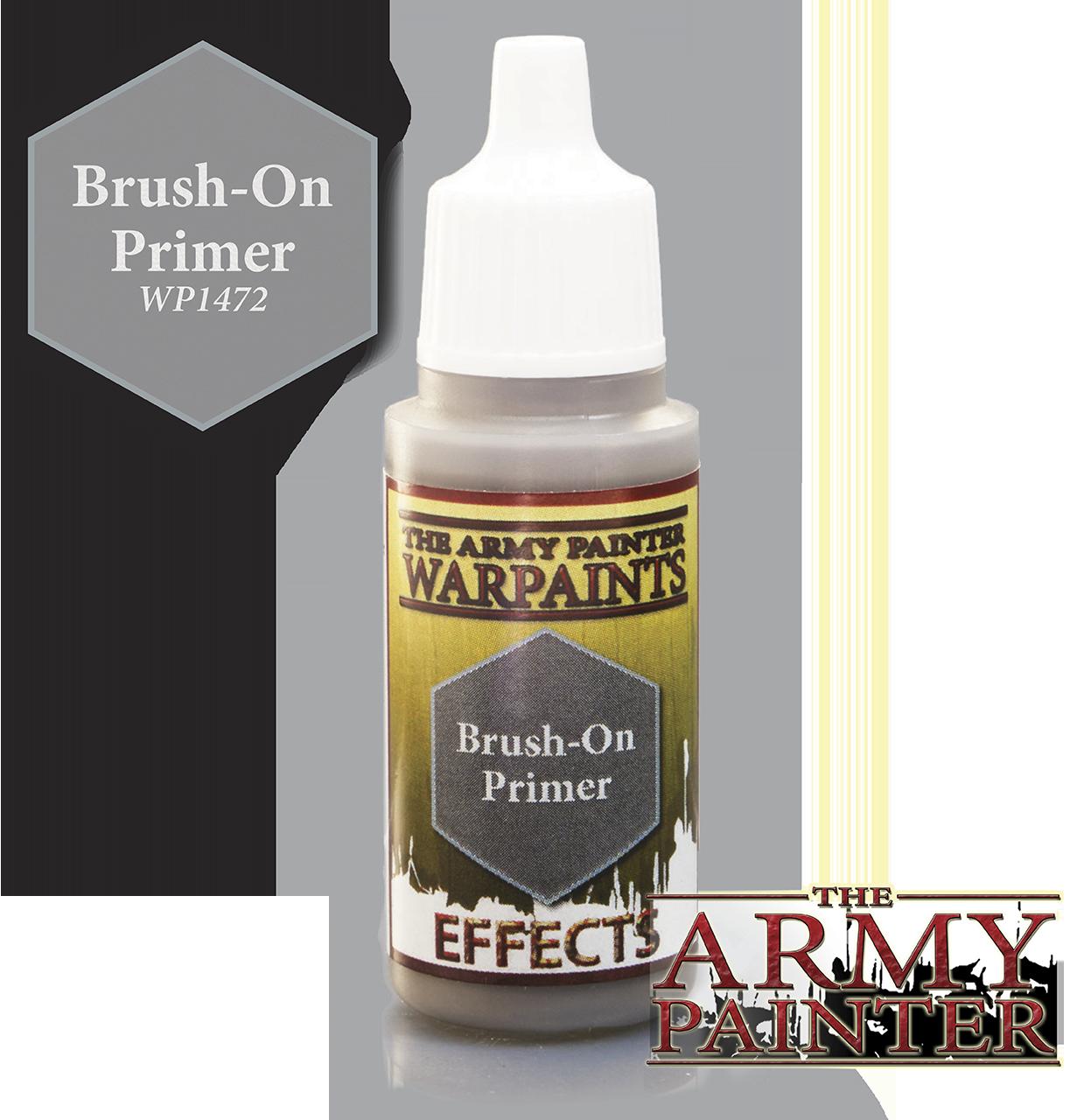 Brush-on Primer - Pinsel-Grundierung - Army Painter Warpaints