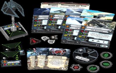 Star Wars X-Wing: TIE-Stürmer Striker • Erweiterung-Pack DEUTSCH