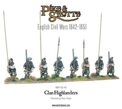 Regular Highlanders - Pike & Shotte - Warlord Games
