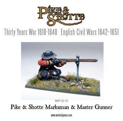 Marksman & Master Gunner - Pike & Shotte - Warlord Games