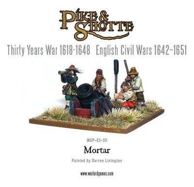 Mortar & Crew - Pike & Shotte - Warlord Games