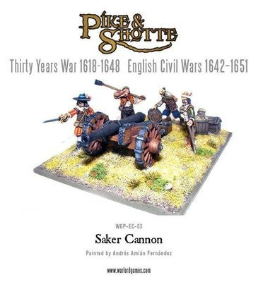 Saker Cannon & Crew - Pike & Shotte - Warlord Games