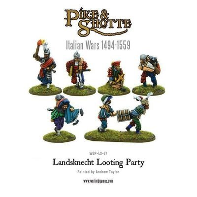 Landsknecht Looting party - Pike & Shotte - Warlord Games