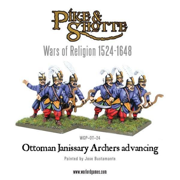 Ottoman Janissary Archers - Pike & Shotte - Warlord Games