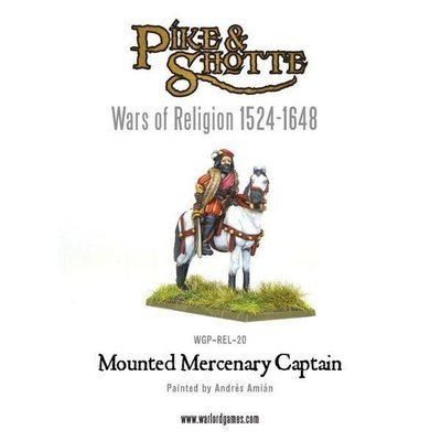 Mercenary Captain Mounted - Pike & Shotte - Warlord Games