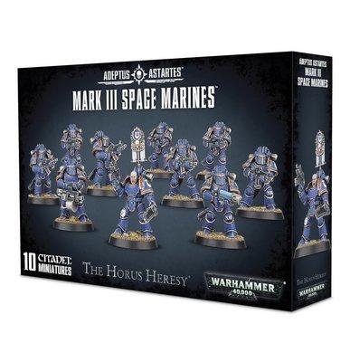 MARK III SPACE MARINES - Warhammer 40.000 - Games Workshop