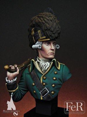 Tarleton's Legion Officer, Charleston, 1780 - FeR Miniatures
