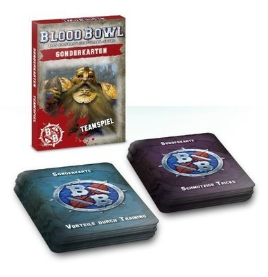 Blood-Bowl-Sonderkarten: Teamspiel-Paket (Deutsch) - Blood Bowl - Games Workshop