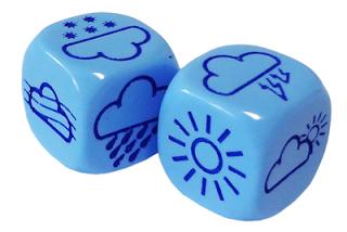 Weather Dice - Wetter-Würfel - Games Workshop
