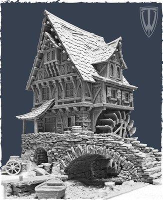 Watermill - Wassermühle - Tabletop World