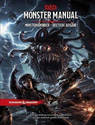 Dungeons & Dragons Monster Manual English