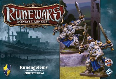 Runewars Miniaturenspiel - Runengolems Erweiterung DEUTSCH /ENGLISCH