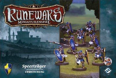 Runewars Miniaturenspiel - Speerträger Erweiterung DEUTSCH / ENGLISCH