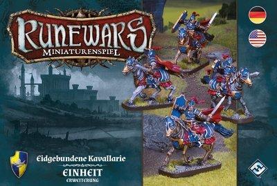 Runewars Miniaturenspiel - Eidgebundene Kavallerie Erweiterung DEUTSCH / ENGLISCH
