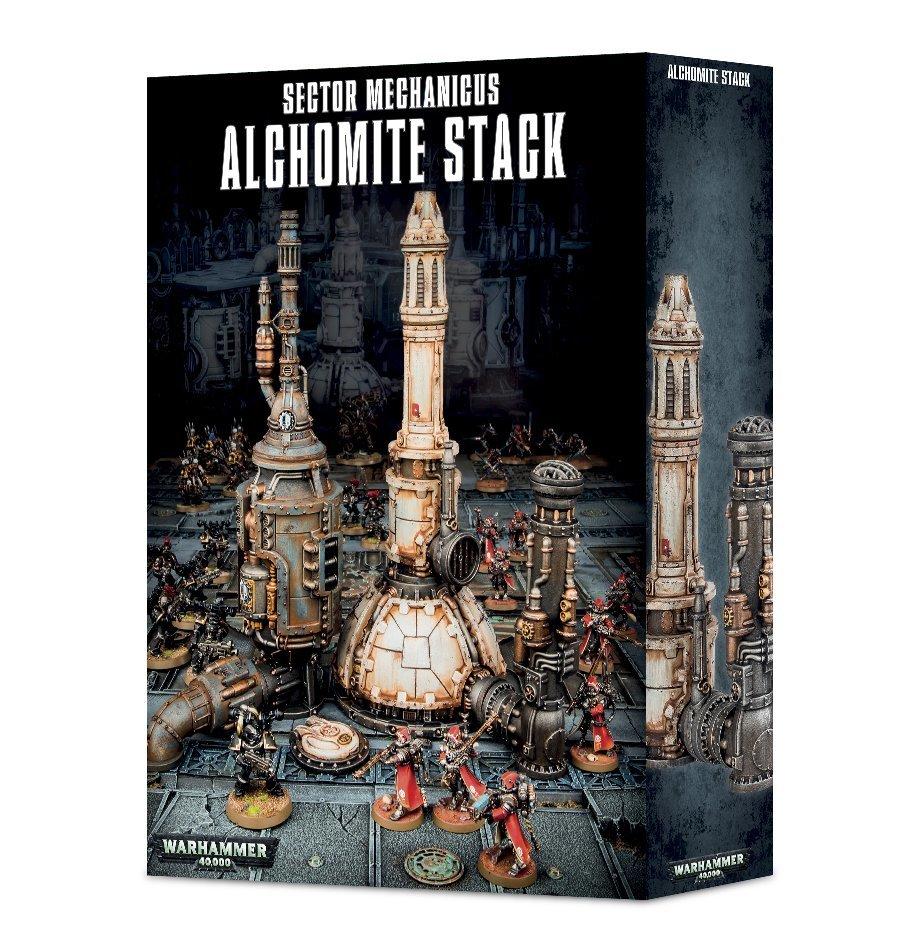 Sector Mechanicus Alchomite Stack - Gelände - Games Workshop