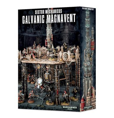 Sector Mechanicus Galvanic Magnavent - Gelände - Games Workshop