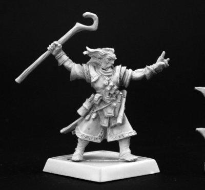 Ezren, Iconic Male Human Wizard - Pathfinder Miniatures - Reaper Miniatures